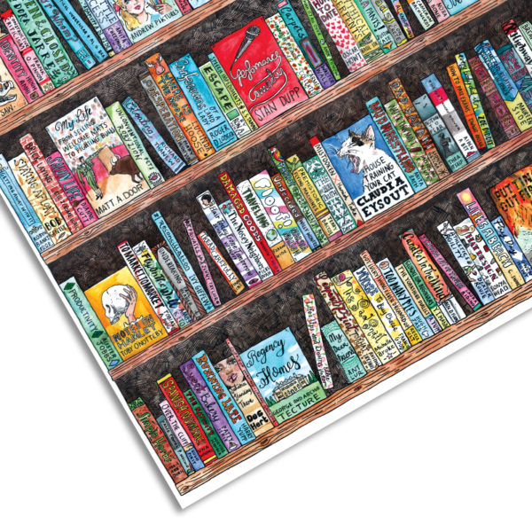 Book Wrapping Paper