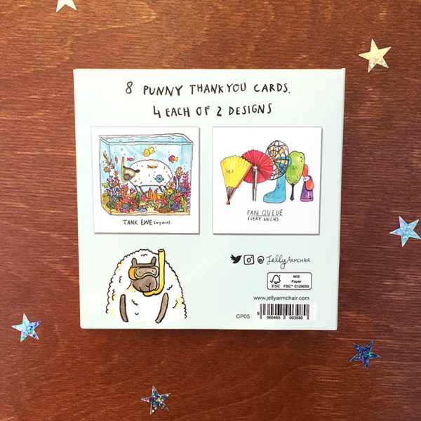 Card Pack of 8