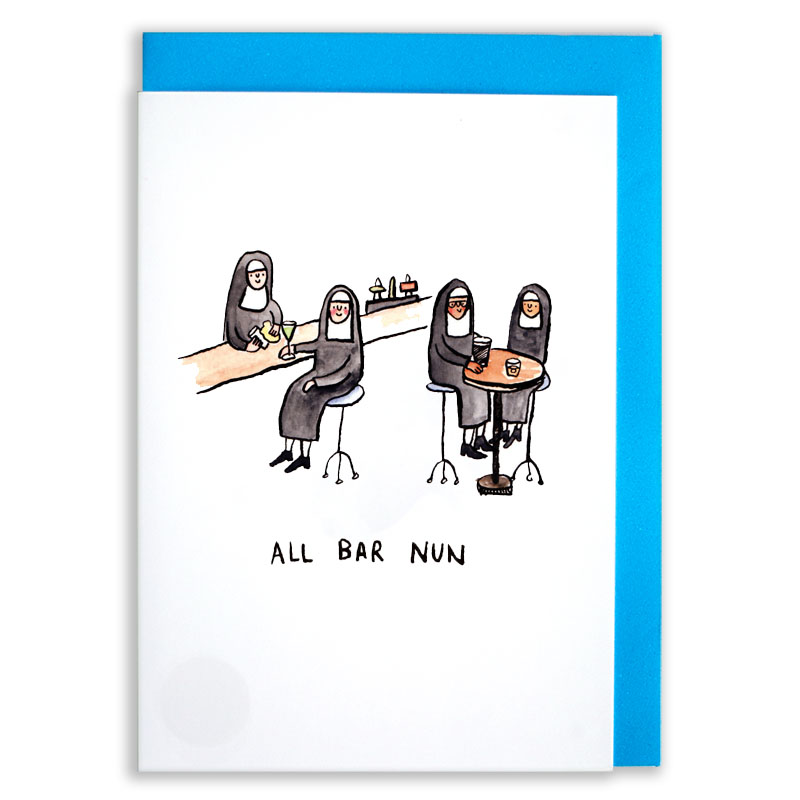 All-Bar-Nun_Funny-Nun-greetings-card_SM39_WB