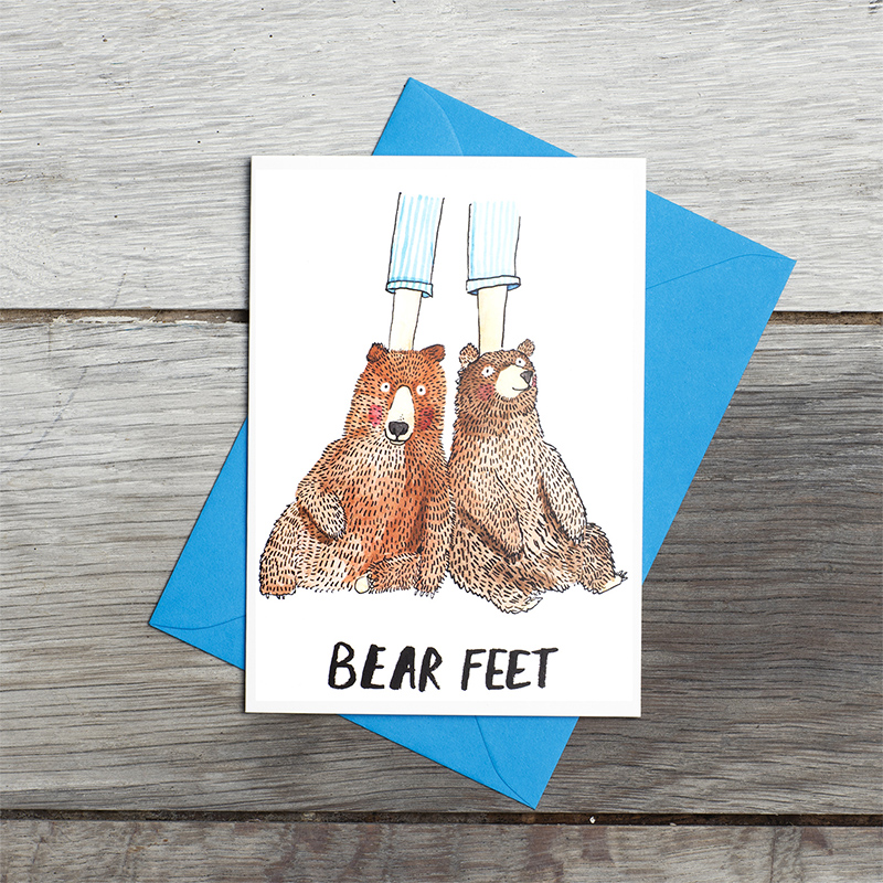 Bear-Feet_Greetings-card-for-those-who-love-nature-and-being-cosy_SM17_FLC