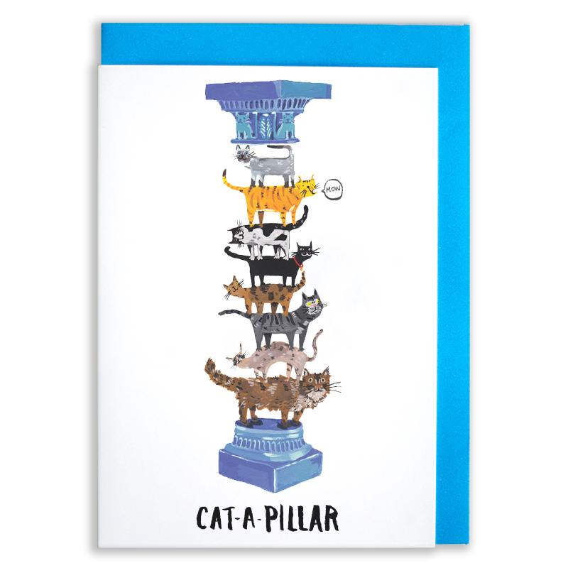 Cat-Lovers-greetings-card_Catapillar_SM11_-WB