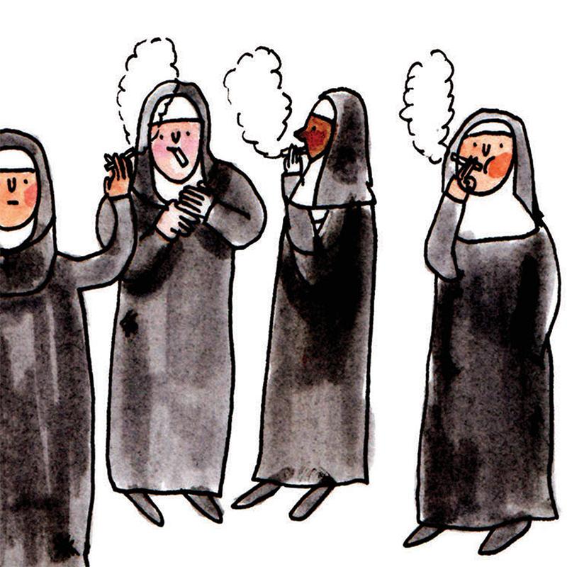 Nun-Smoking_-Funny-nun-greetings-card_SM38_CU