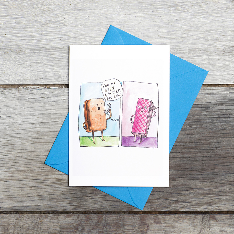 Waffer-too-long_Funny-biscuit-greetings-card-for-long-distance-needs-SM18_FLC