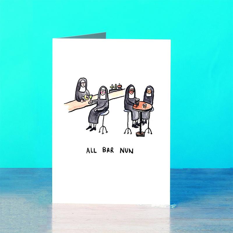 All-Bar-Nun_Funny-Nun-greetings-card_SM39_OT