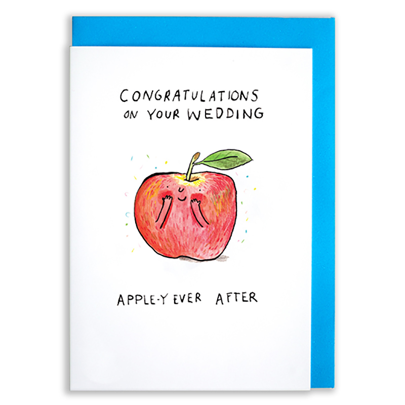 Apple-y-Ever-After_-Wedding-greetings-card-with-apple-pun-for-newly-weds_SO51_WB