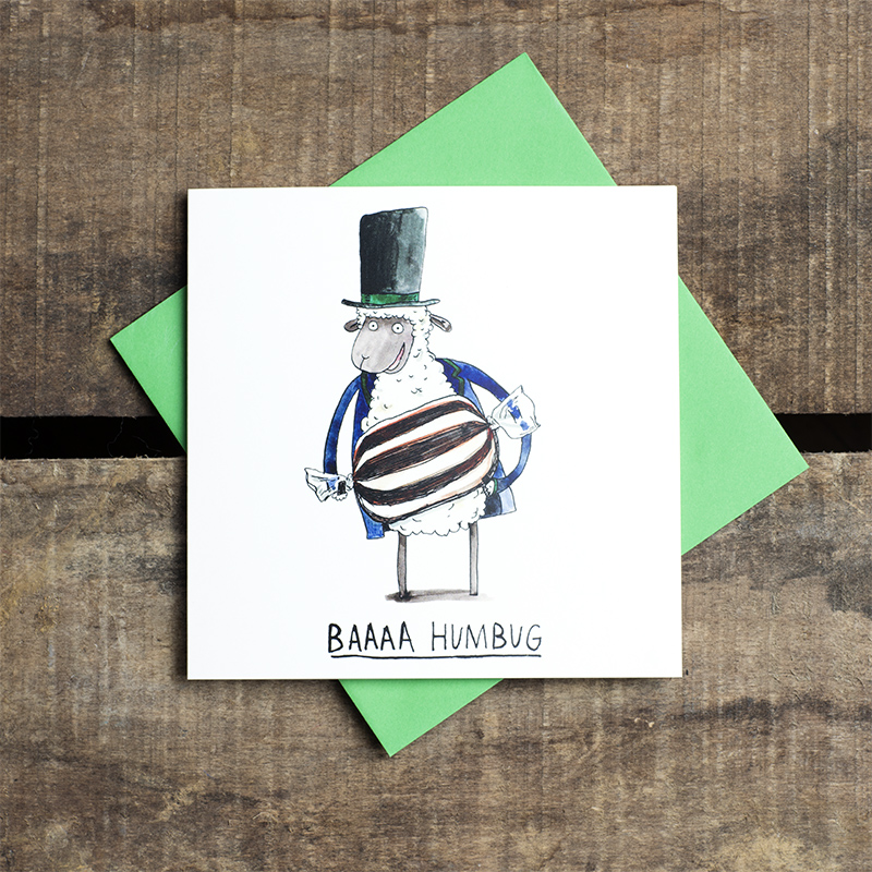 Baaa-Humbug_-Scrooge-themed-Christmas-card-with-sheep-pun_CH12_FLC