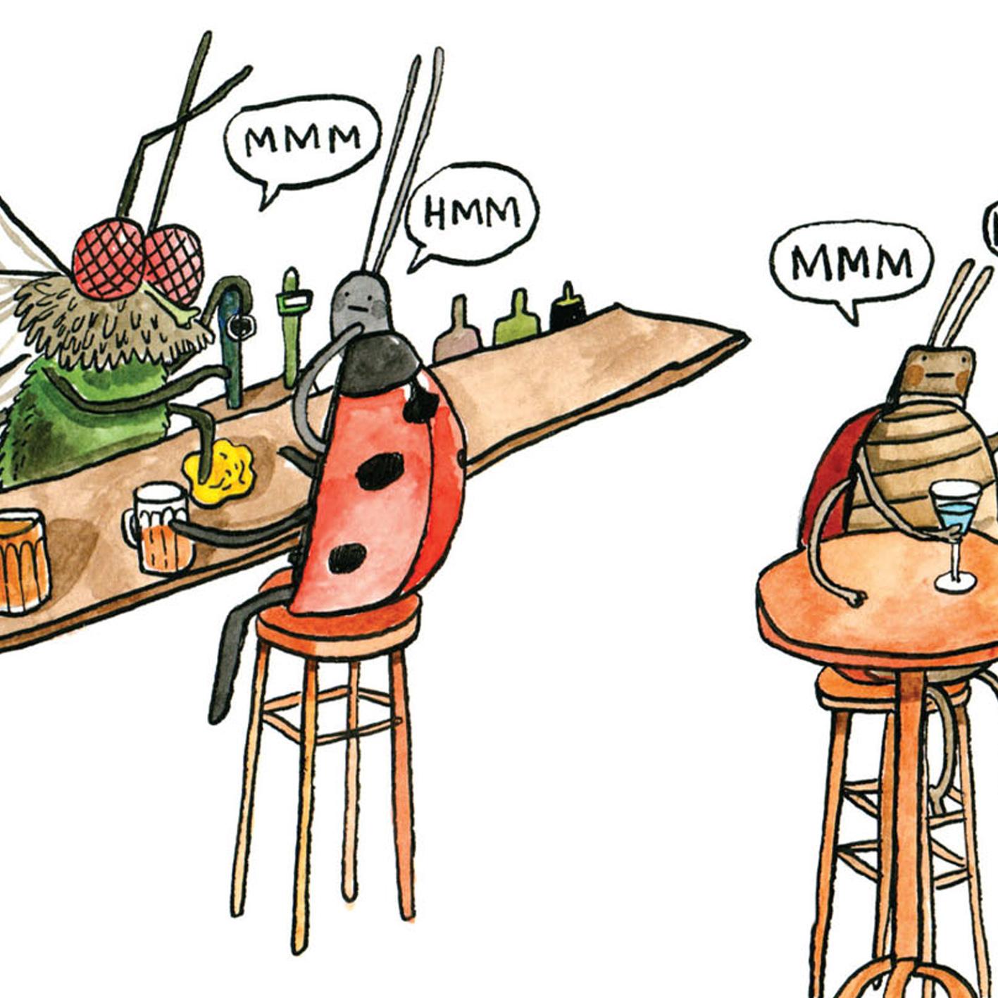 Bar-Hum-Bug_Insect-pun-Christmas-card.-Wildlife-Christmas-card_CH20_CU