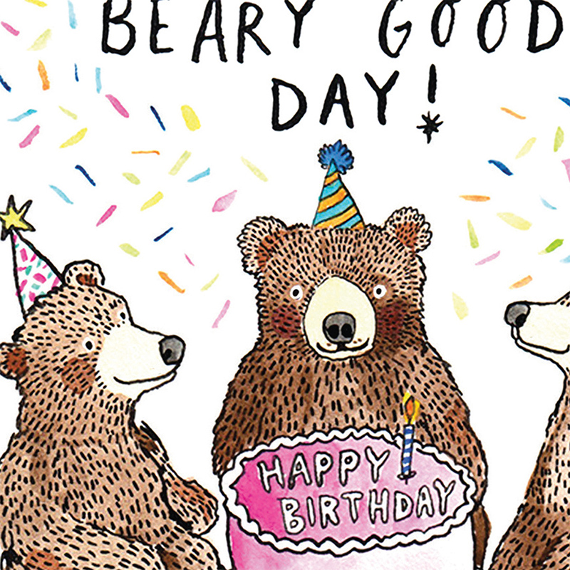 Beary-Good-Day_Bear-pun-birthday-card-for-nature-lovers-and-birthday-cake-bakers_SO21_CU