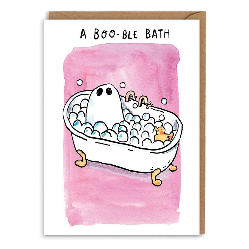 Booble-Bath_-Ghost-in-a-bath-greetings-card.-bubble-bath-greetings-card_POP05_WB-