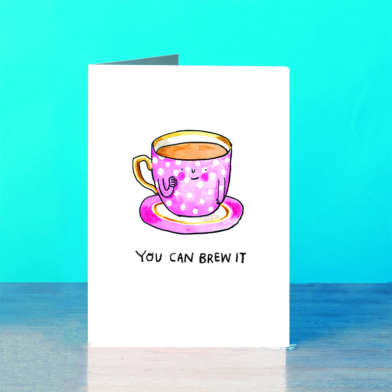 Brew-It_Motivational-pun-greetings-card-for-tea-lovers-SM66_OT