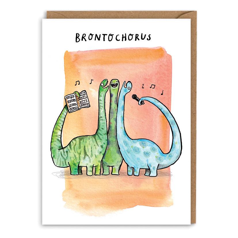 Bronto-Chorus_-Dinosaur-pun-greetings-card.-Choir-pun-greetings-card-for-singers_POP14_WB