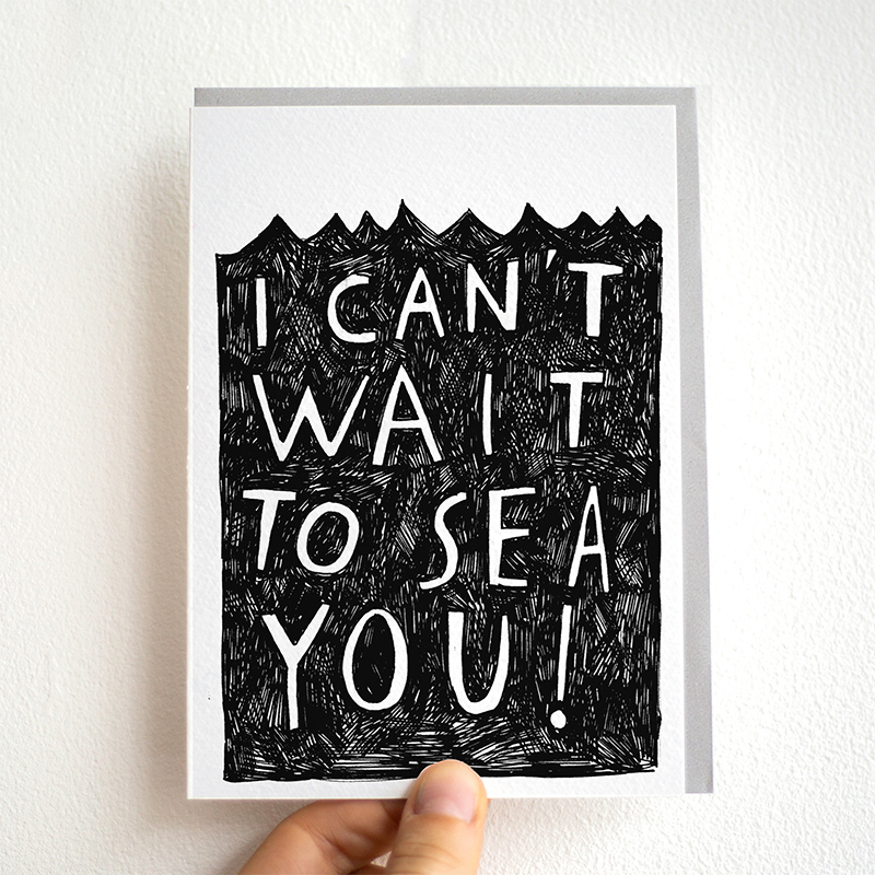 Cant-Wait-To-Sea-You_-Ocean-and-sea-pun-greetings-card-for-long-distance-friends-and-family_BW23_THB