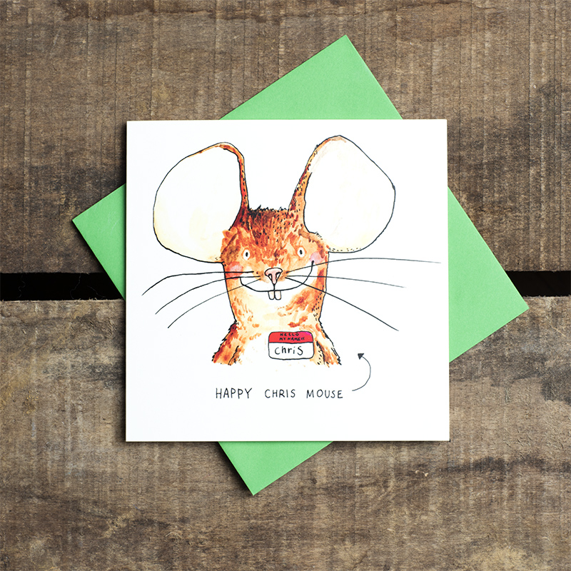 Chris-Mouse_-Funny-Christmas-card-with-pun-mouse-joke_CH01_FLCgreen