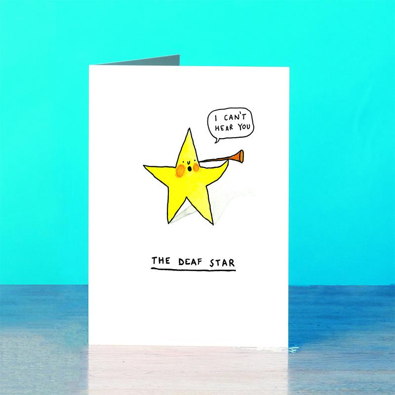 Deaf-Star_-SciFi-Pun-greetings-card_SM25_OT
