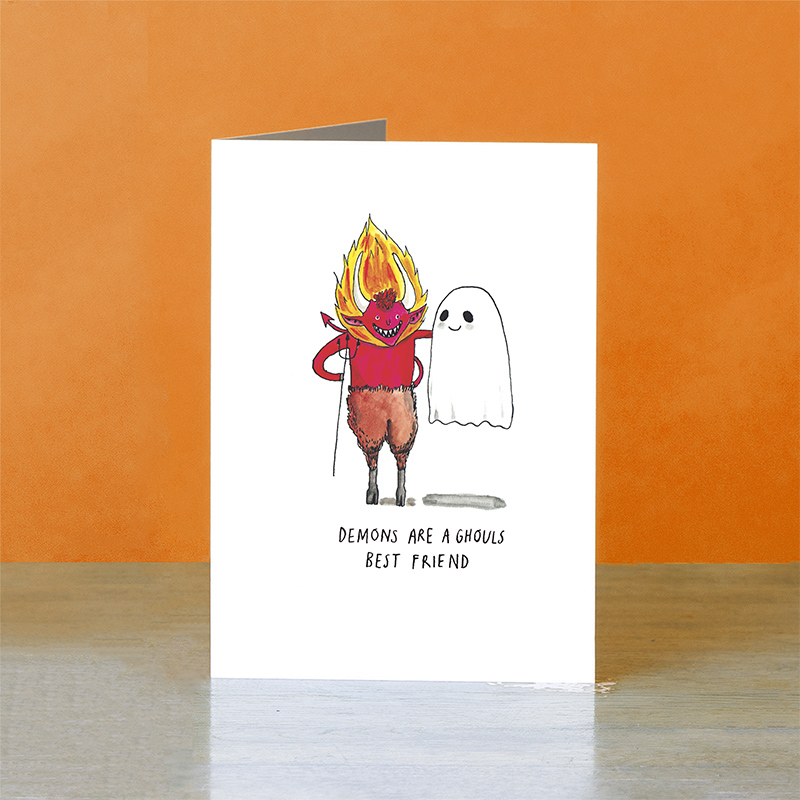 Demons-and-Ghouls_-Halloween-greetings-card-for-best-friends_HW06_OT