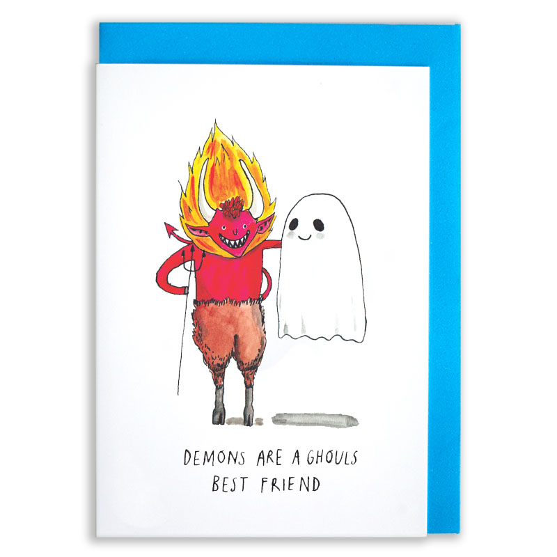 Demons-and-Ghouls_-Halloween-greetings-card-for-best-friends_HW06_WB
