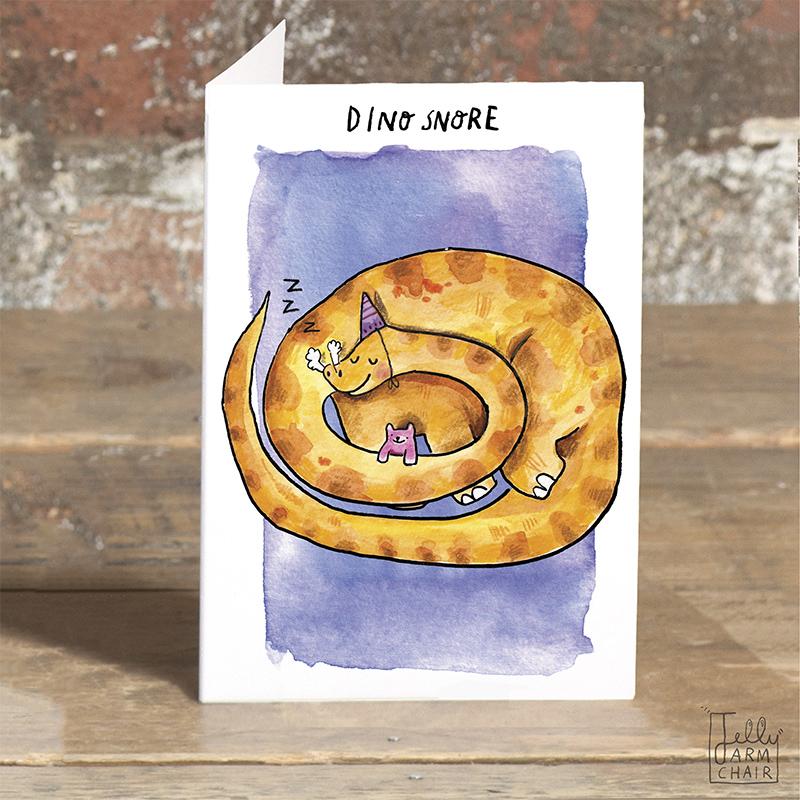 Dino-Snore_-Cute-Dinosaur-greetings-card.-Kids-Dinosaur-card_POP06_OT