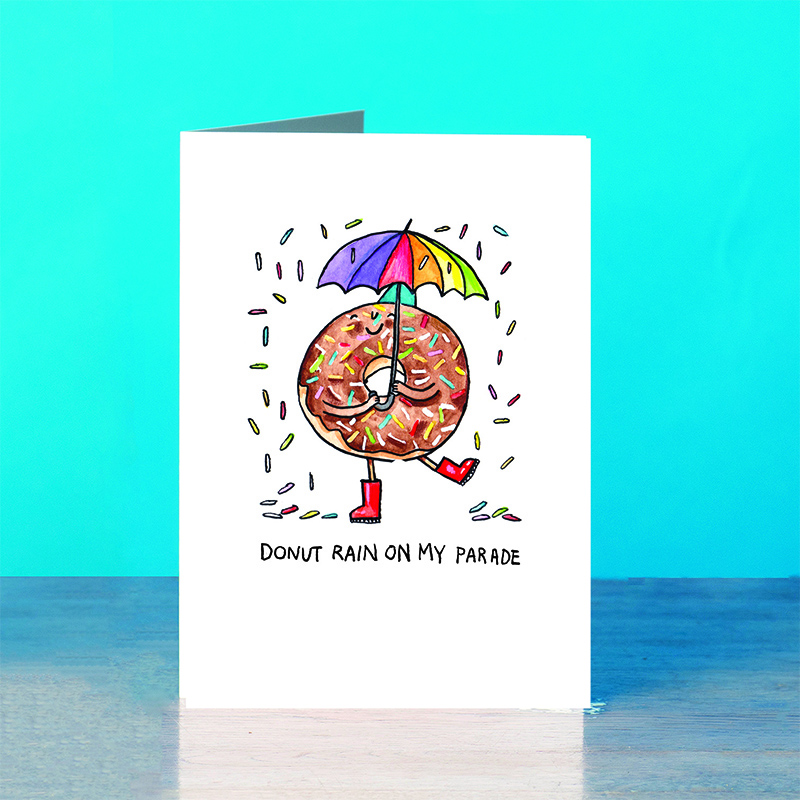 Donut-Rain_Doughnut-pun-greetings-card-for-those-who-love-cake-and-musicals_SM64_OT