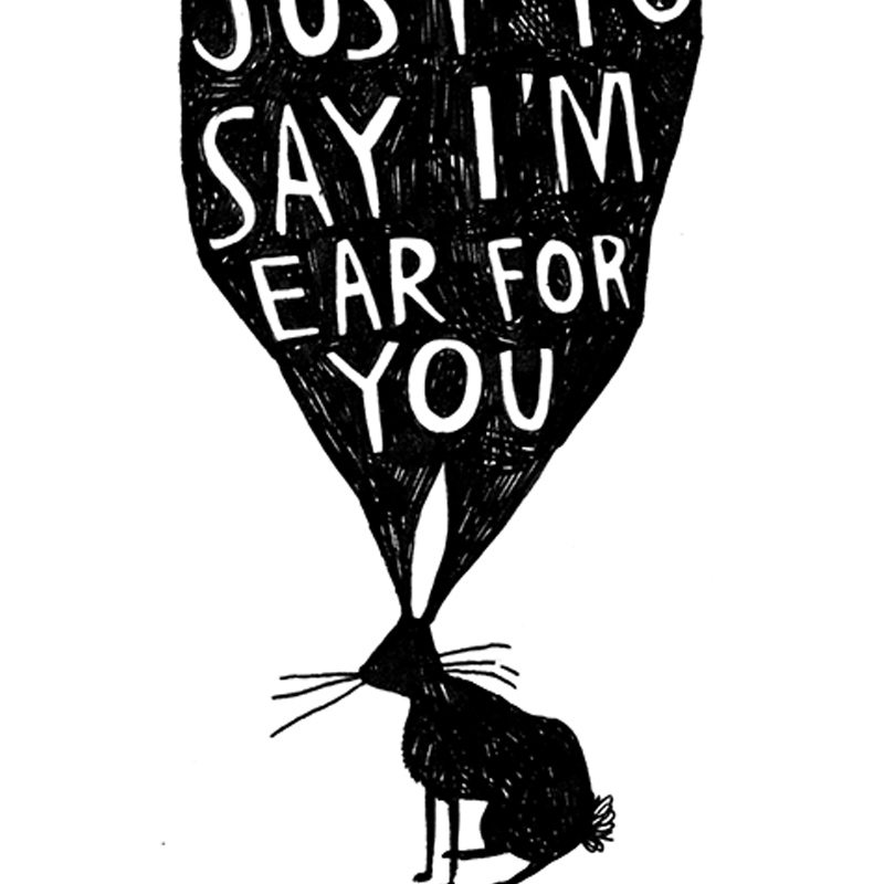 Ear-For-You_-Rabbit-pun-greetings-card-for-condolences-or-for-letter-writing-to-friends_-BW19_CU
