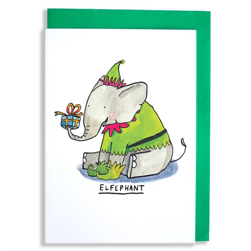 Elfephant_-Elephant-Christmas-card-with-elf-pun_CA14_WB