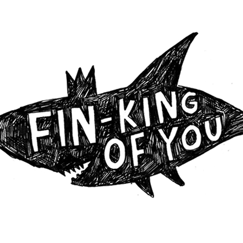 Fin-King_-Shark-greetings-card-for-condolences-or-letter-writing-to-friends_BW21_CU