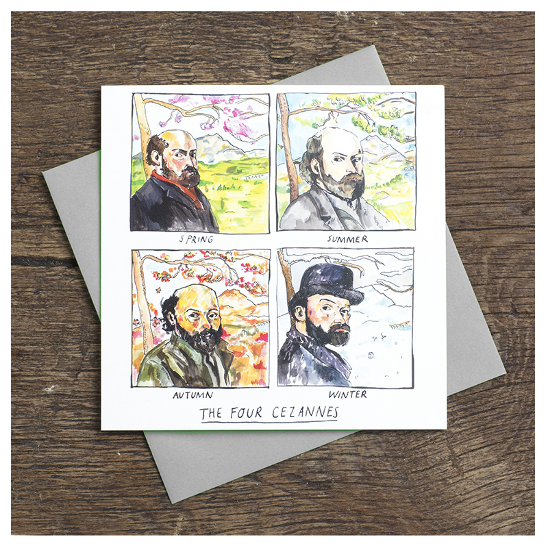 Four-Cezannes_-Cezanne-greetings-card-for-nature-loves-and-art-lovers_-SA06_FLC