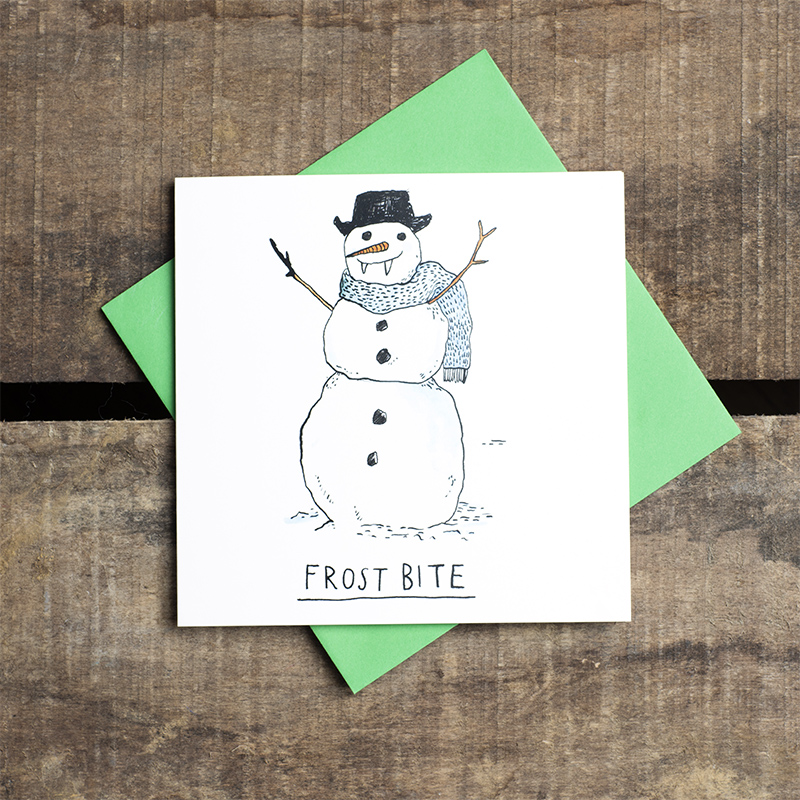 Frost-Bite_-Funny-Snowman-Christmas-card-with-frosty-pun_CH07_FLC