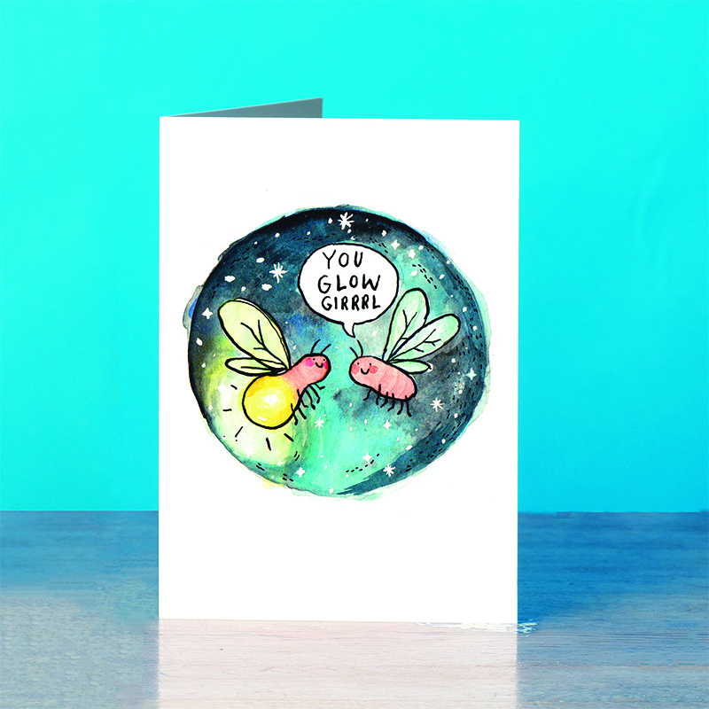 Glow-Girl_-Girl-Power-greetings-card-for-friends-and-sisters_SM30_OT
