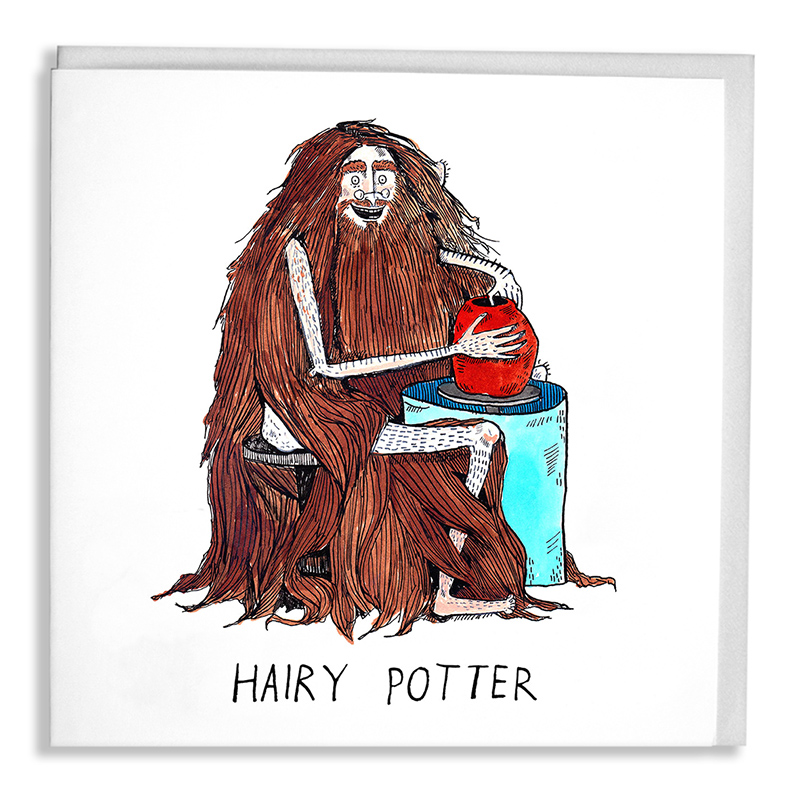 Hairy-Potter_-Pottery-greetings-card-for-potters-and-book-lovers_SL05_WB