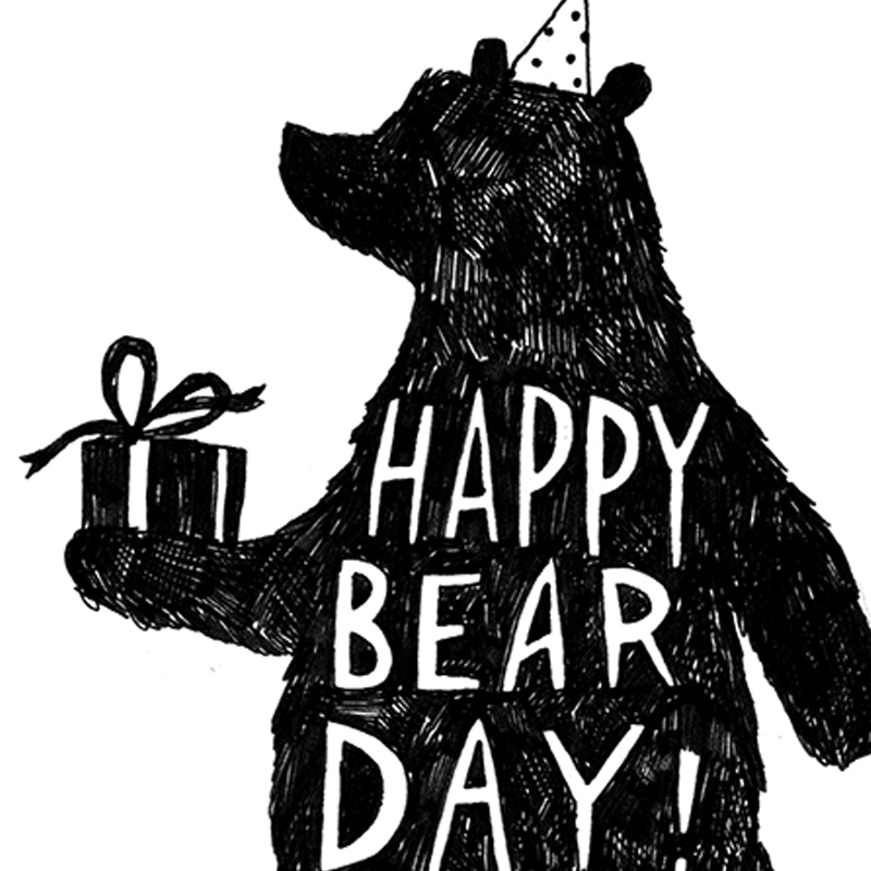 Happy-Bear-Day_-Bear-themed-birthday-card-with-bear-out-for-nature-lovers-and-teddy-bear-owners_BW07_CU