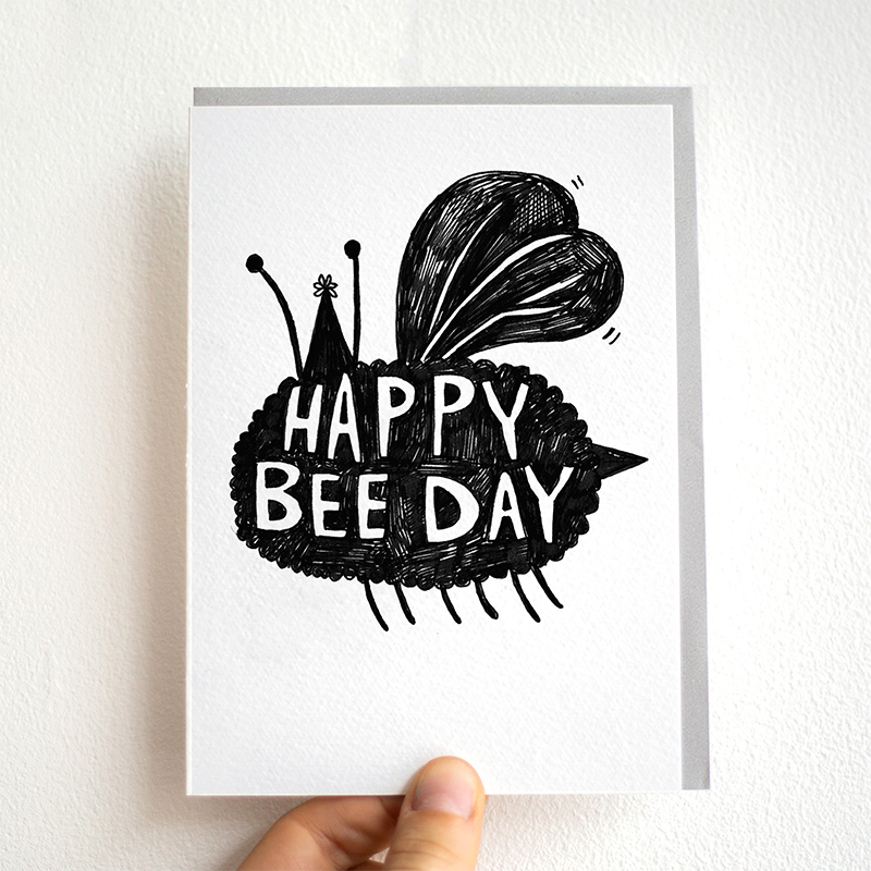 Happy-Bee-Day_-Bee-themed-birthday-card-for-nature-and-insect-enthusiasts_BW03_THB