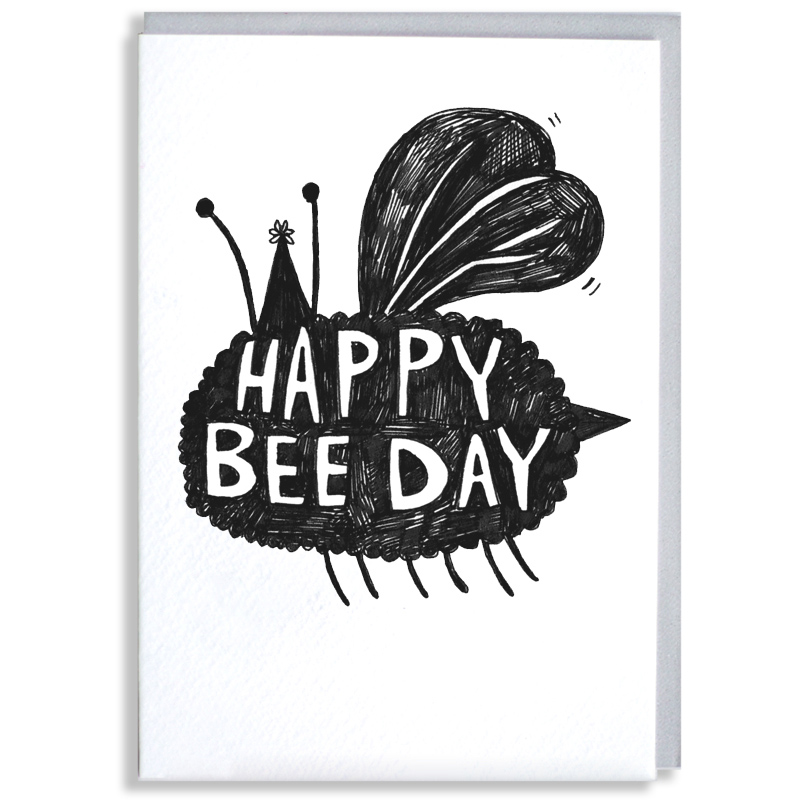 Happy-Bee-Day_-Bee-themed-birthday-card-for-nature-and-insect-enthusiasts_BW03_WB