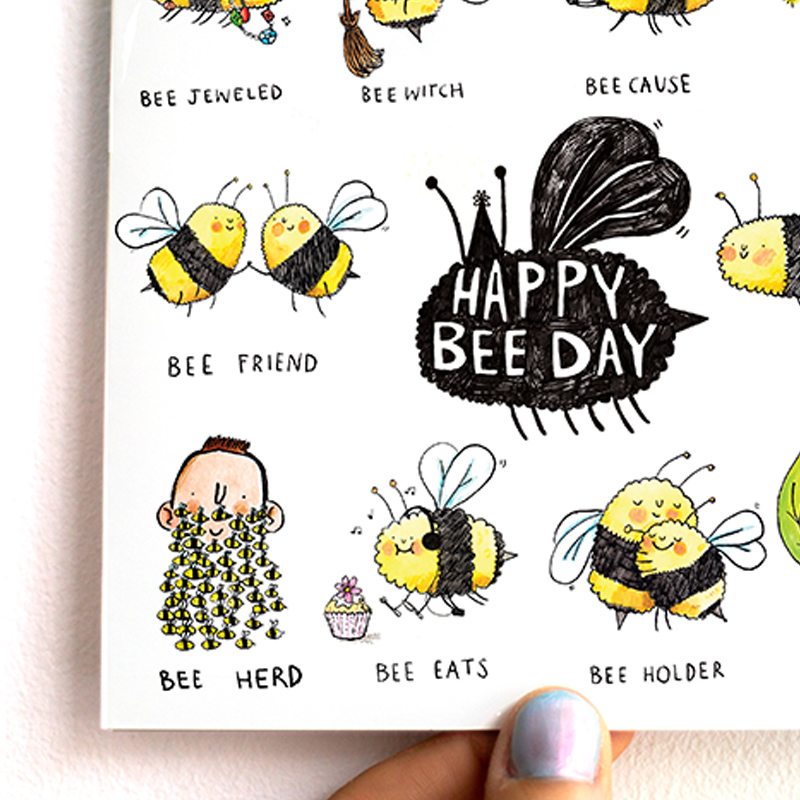 Happy-Bee-Day_-Birthday-Card-with-bee-Puns-for-nature-lovers_MP02_THB