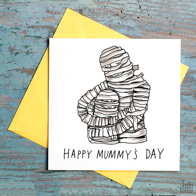 Happy-Mummys-Day_-Mothers-Day-card-with-mummy-pun.-Fun-Mothers-Day-Card_MD06_FLC