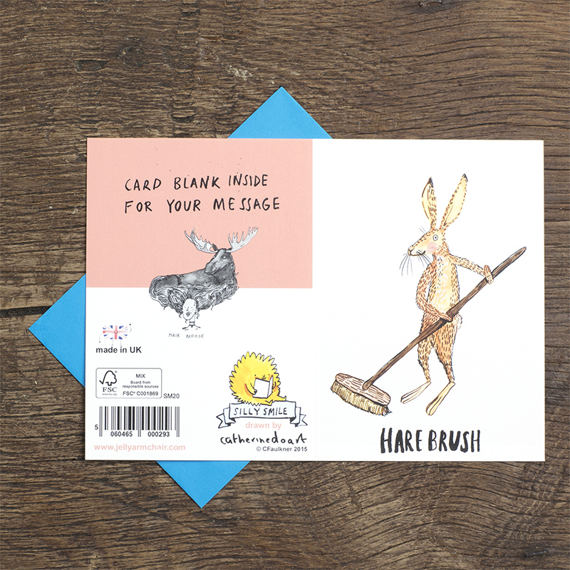 Hare-Brush_Greetings-card-for-nature-lovers-and-pun-lovers_SM20_FLO