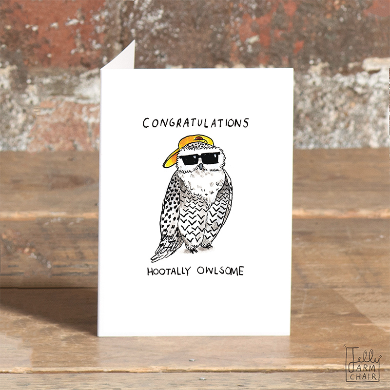 Hootally-Owlsome_-Congradulations-greetings-card-for-new-jobs-graduations-and-all-celebrations_SO48_OT
