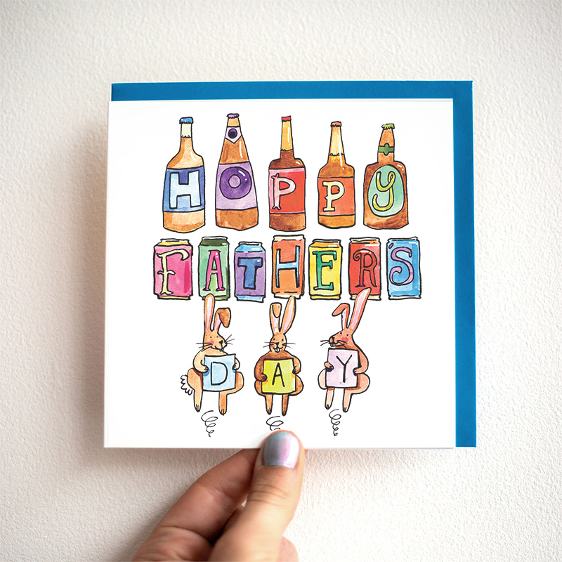 Hoppy-Fathers-Day_-Beer-or-ale-themed-Fathers-Day-Card-for-beer-and-IPA-enthusiasts_FD06_THB