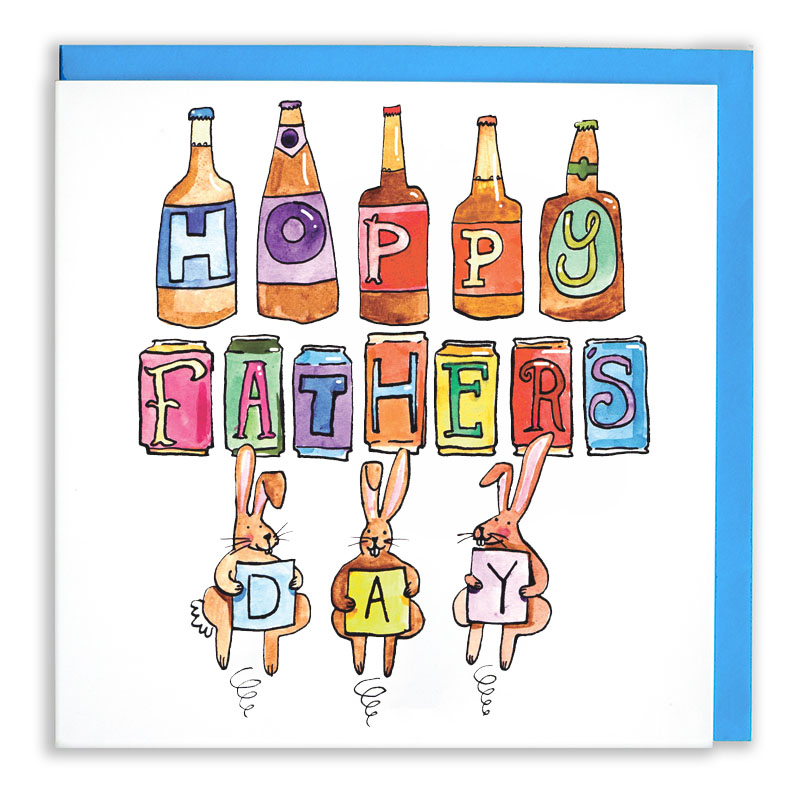 Hoppy-Fathers-Day_-Beer-or-ale-themed-Fathers-Day-Card-for-beer-and-IPA-enthusiasts_FD06_WB