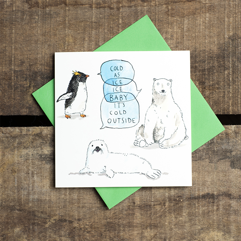 Ice-Ice-Baby_-polar-wildlife-Christmas-card.-Christmas-songs-Christmas-card_CH08_FLC