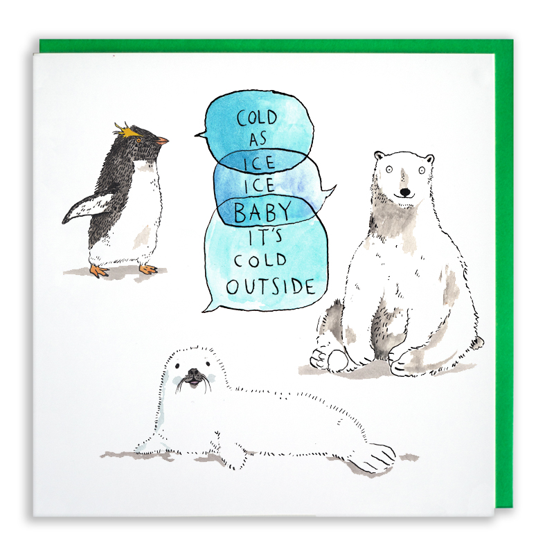 Ice-Ice-Baby_-polar-wildlife-Christmas-card.-Christmas-songs-Christmas-card_CH08_WB