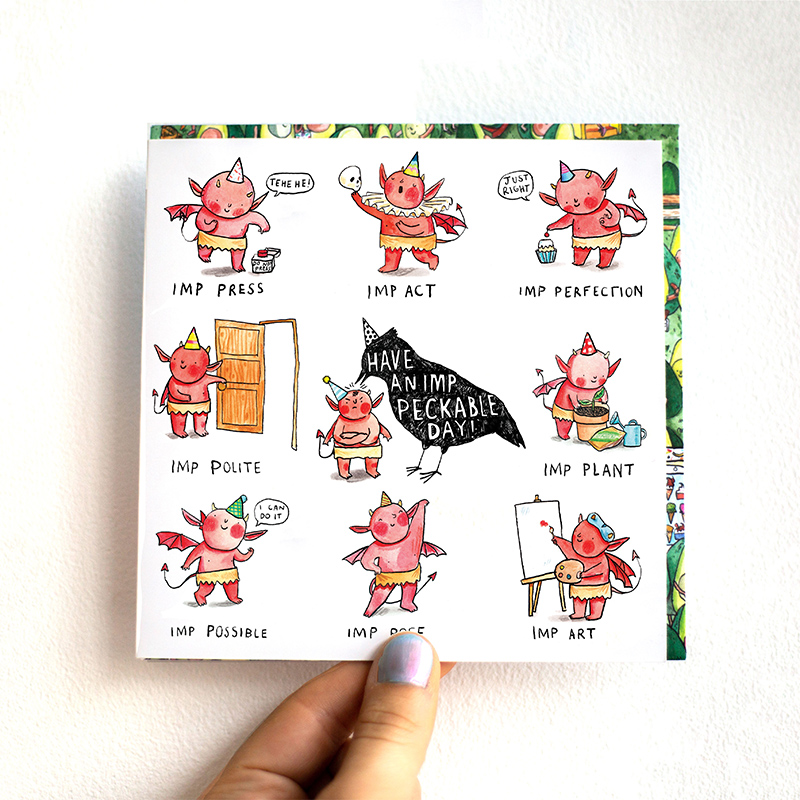 Imp-Peckable-Day_-Greetings-card-with-Imp-puns-for-birthdays_MP11_THB