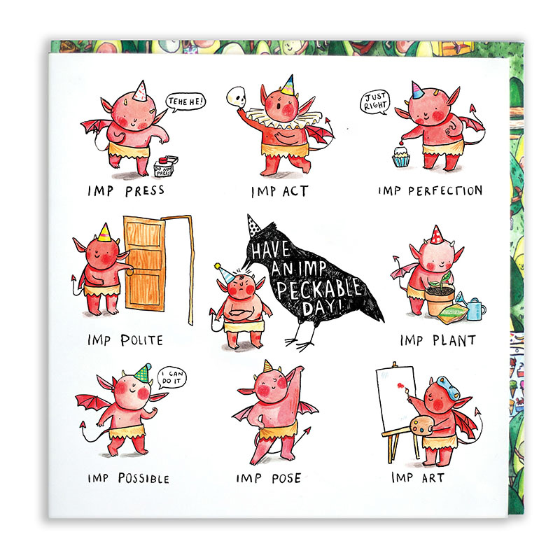 Imp-Peckable-Day_-Greetings-card-with-Imp-puns-for-birthdays_MP11_WB