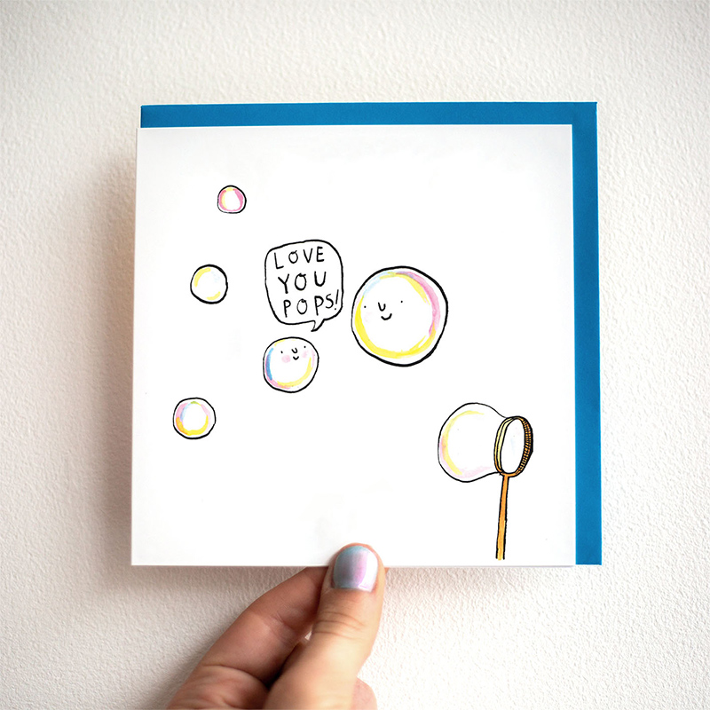 Love-You-Pops_-Illustrated-Fathers-Day-card-with-bubble-pun_FD14_THB