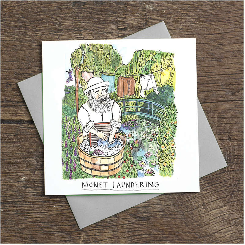 Monet-Laundering_-Claude-Monet-fun-greetings-card-for-art-lovers-and-bankers-alike_SA03_FLC