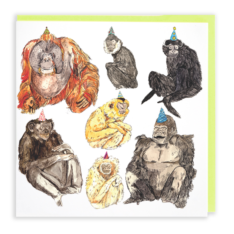 Monkeys_Illustrated-monkeys-greetings-card-for-nature-lovers_AP04_WB