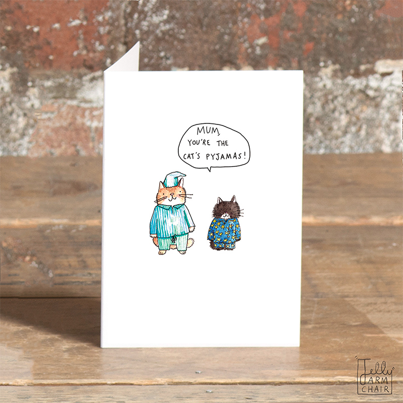 Mum-Cats-Pyjamas_-Hand-illustrated-Mothers-Day-card-for-cat-lovers_SO40_OT