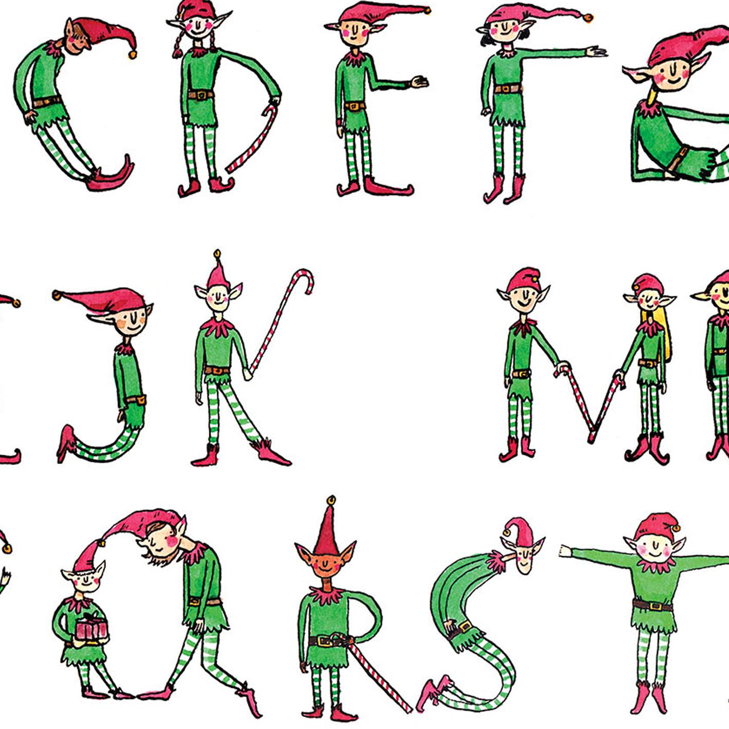 Noel-Elfabet_Santas-elves-Christmas-card-CH10_CU
