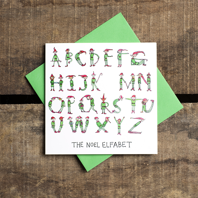 Noel-Elfabet_Santas-elves-Christmas-card-CH10_FLC