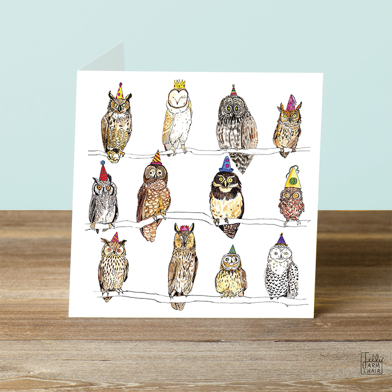 Owls_-Owl-illustration-greetings-card.-Card-for-Birdwatchers_AP01_OT