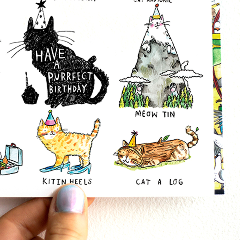 Perfect-Birthday_Birthday-card-with-cat-pin.-Cards-for-cat-owners-and-cat-lovers_-MP05_CU